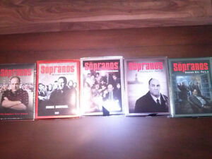 The Sopranos Seasons 1,2,4,6 Part 1, 6 Part 2