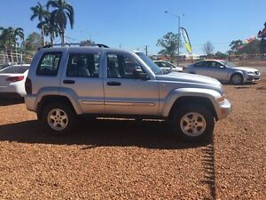 2004 Jeep Cherokee  Silver 4 Speed Automatic Wagon Hidden Valley Darwin City Preview