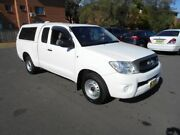 2011 Toyota Hilux GGN15R MY11 Upgrade SR White 5 Speed Automatic X Cab Pickup Bankstown Bankstown Area Preview
