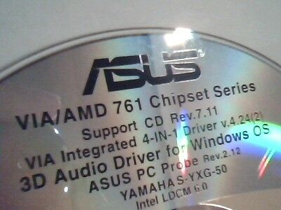 Driver Support Cd Asus Via Amd 761 Chipset Series 3D Audio Pc Probe M166
