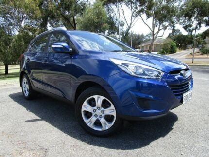 2014 Hyundai ix35 LM3 MY14 Active Blue 6 Speed Sports Automatic Wagon Old Reynella Morphett Vale Area Preview