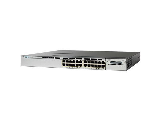 Cisco Ws-c3750x-24p-l Managed Stackable Ethernet Switch