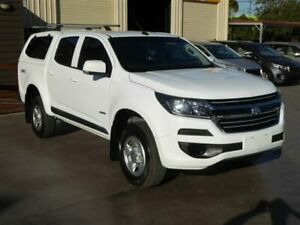 2016 Holden Colorado RG MY17 LS (4x4) White 6 Speed Automatic Crew Cab Pickup Brendale Pine Rivers Area Preview