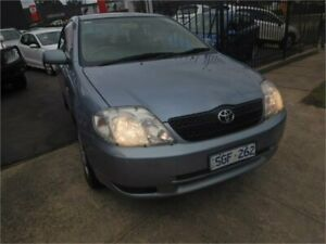 2003 Toyota Corolla ZZE122R Ascent Blue 4 Speed Automatic Sedan Burwood Whitehorse Area Preview