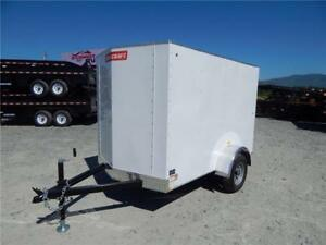 2017 5x8 ENCLOSED CARGO TRAILER
