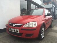 Vauxhall Corsa 1.2 i 16v Life 3dr PARTS & LABOUR WARRANTY