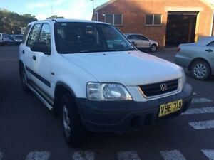 1998 Honda CR-V (4x4) White 4 Speed Automatic 4x4 Wagon Georgetown Newcastle Area Preview
