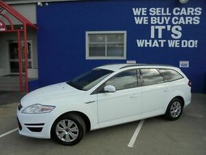 2012 Ford Mondeo MC LX PwrShift TDCi White 6 Speed Sports Automatic Dual Clutch Wagon Welshpool Canning Area Preview