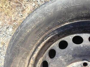 4 studded tires on rims for '06 or newer VW's