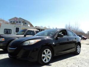 ONE OWNER $129 BIWEEKLY OAC 2010 MAZDA 3 ONLY 91000KM!! BLUETO