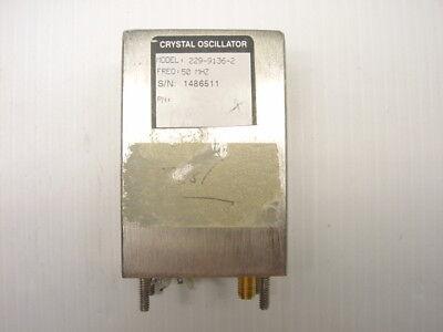 Vectron 229-9135 50 Mhz Crystal Oscillator Microwave Rf