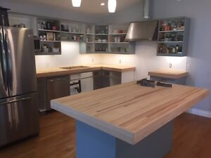Reclaimed Wood Butcher Block - Custom Installations!