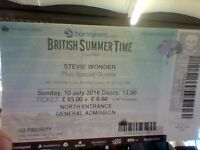 Stevie Wonder - Barclaycard British Summer Time 2016 - Sunday - General Admission