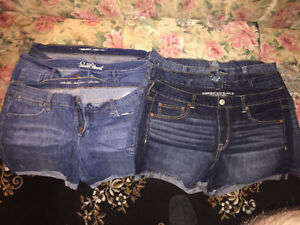 6 Pairs Woman's Shorts Size 16