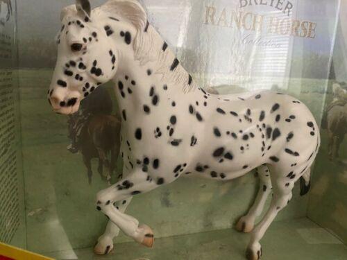 New NIB Retired Breyer #750 Hank Ranch Horse Leopard Appaloosa
