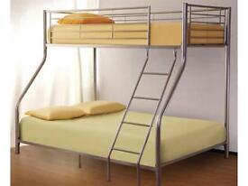 Brand New Alaska Bunk Bed with Original Deep Quilted Mattresses Option