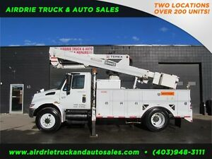 2007 International 4300 S/A Bucket Truck Terex Telect Hi-Ranger