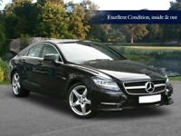 Mercedes-Benz CLS 3.0 CLS350 BlueEFFICIENCY AMG - BLACK - 60K miles Ivory Leather