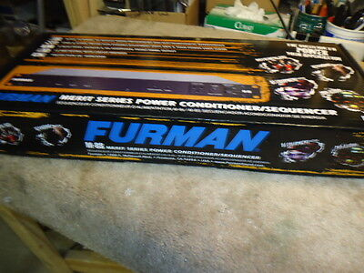 FURMAN M-8S sequencer/conditioner power strip- New (6) available