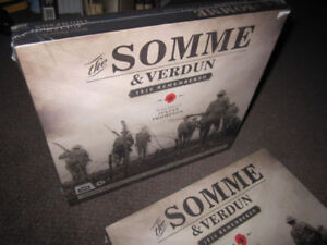 The Somme & Verdun - 1916 Remembered - Hardcover, NEW $10.00