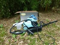 VAX steam cleaner hardly used.