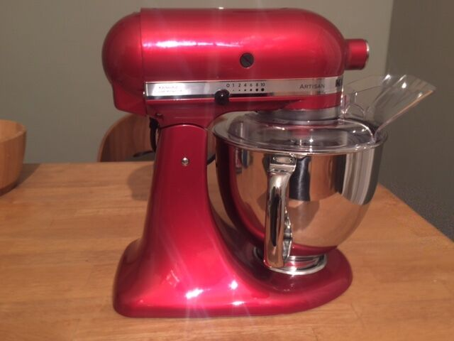 Kitchenaid Artisan 4 8l Stand Mixer Candy Apple Red New