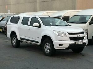 2013 Holden Colorado RG LX (4x2) White 6 Speed Automatic Crew Cab Pickup Revesby Bankstown Area Preview