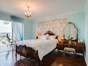 OPEN HOUSE AUG 28: Rarely Available Spacious 1+1 & 2 WR Penthous