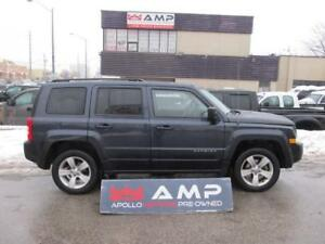 2014 Jeep Patriot North 4WD automatic alloys and more!