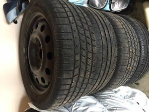 4 winter tires & rims Q45 2002 Infinity for sale