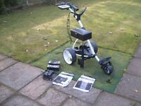 Motocaddy S1 Electric Trolley - 5 months old - as new - with all available accessories