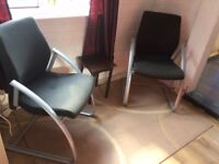 Two Ergonomic chairs each at £25 only or £45 for both almost new BARGAIN