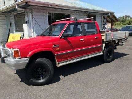 1995 Ford Courier - 4X4 -  Dual Cab - Manual - AS IS