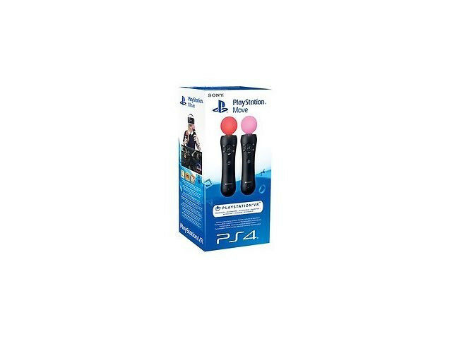 PlayStation Move Controller Twin Pack (PS4) NEW