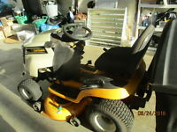 2012 ride on lawn mower