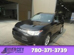2014 Mitsubishi Outlander AWD GT 7 PASSENGER Leather,  Heated Se