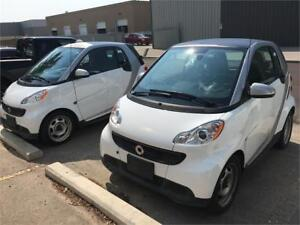 3 Smart cars to choose from