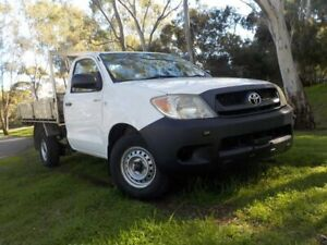 2005 Toyota Hilux TGN16R MY05 Workmate 4x2 5 Speed Manual Cab Chassis Pooraka Salisbury Area Preview