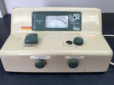 Bausch Lomb Spectronic 20 Spectrometer Spectrophotometer Lab 33-29-61-64