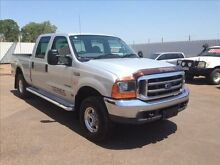 2006 Ford F250 RN XLT (4x4) Silver 4 Speed Automatic Berrimah Darwin City Preview