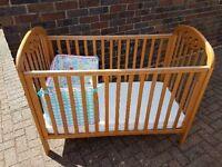 Babies Wooden Cosset Cot