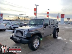 2015 Jeep Wrangler Unlimited Sport 4X4- New Tires!