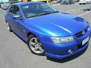 2005 Holden Commodore VZ 05 Upgrade SV6 Blue 5 Speed Auto Active Select Sedan Maidstone Maribyrnong Area Preview