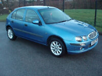 ROVER 25 SPIRIT S. 12 MONTHS M.O.T-IDEAL 1ST CAR OR CHEAP RUNABOUT