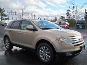 SUPER DEAL! 2007 Ford Edge LEATHER , ALLOY RIMS! 4X4! ALL WHEEL