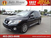2014 NISSAN PATHFINDER NAVI BACK UP CAMERA LEATHER90DAYNOPAYMENT