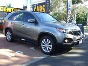 2012 Kia Sorento XM MY12 Platinum Silver 6 Speed Sports Automatic Wagon Urangan Fraser Coast Preview