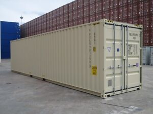 40' NEW SHIPPING CONTAINERS FOR SALE!