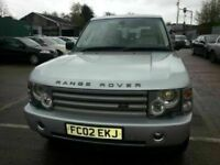 LAND ROVER RANGE ROVER VOGUE AUTOMATIC LEATHER ALLOYS SAT NAV 12 MONTHS MOT 4x4