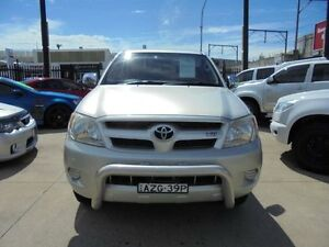 2006 Toyota Hilux GGN25R MY07 SR5 Silver 5 Speed Automatic 4D Utility Granville Parramatta Area Preview